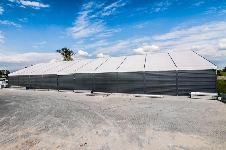 Storage Structure in Pokrzywnica Piątek/ Hala magazynowa w Pokrzywnicy Piątek