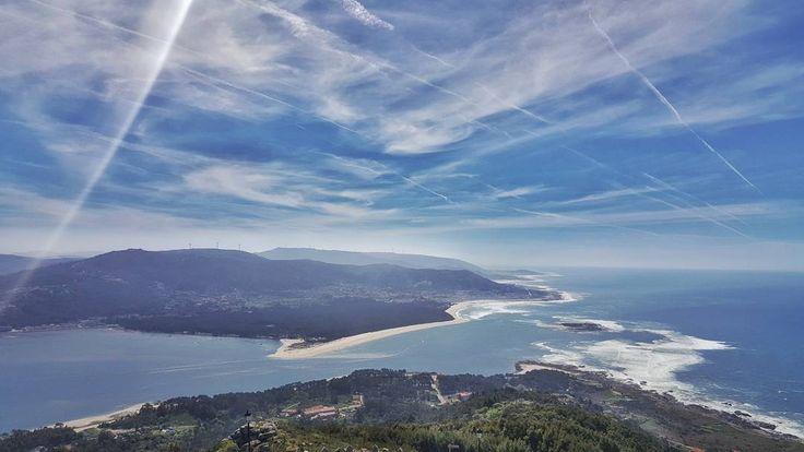 Espectaculares vistas del Monte de Santa Tecla, en A Guarda vía @rubensantamaria #Galicia #SienteGalicia