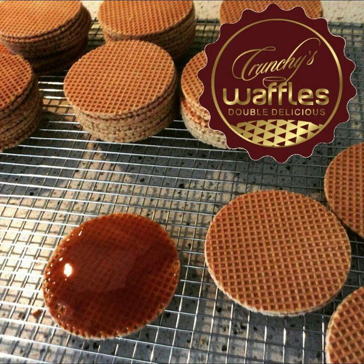 CRUNCHY's waffles - Stroopwafels (Dutch syrup waffles)