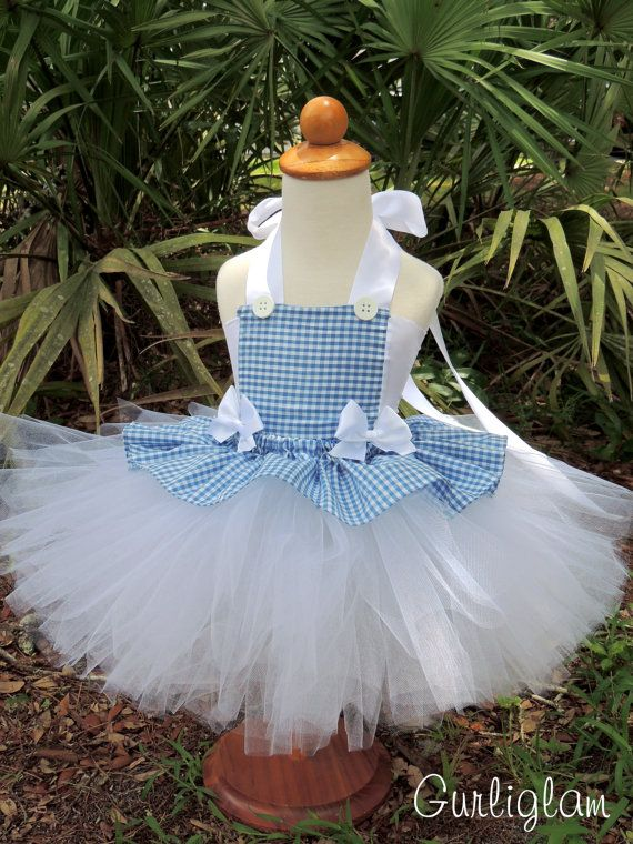 Dorothy Tutu Costume, Pageant Costumes Birthday tutu by Gurliglam, $75.00