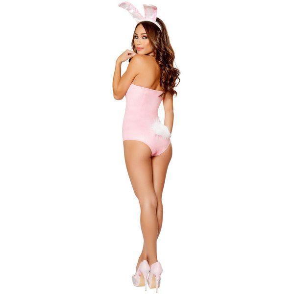 sexy playboy bunny halloween costume 61 aud liked on polyvore featuring costumes - Puck Bunny Halloween Costume