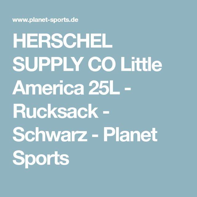 HERSCHEL SUPPLY CO Little America 25L - Rucksack - Schwarz - Planet Sports