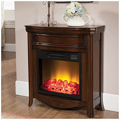 """28"""" Petite Foyer Fireplace at Big Lots.  This is great for a small space or apartment!  I'll have to go see it in person!"""