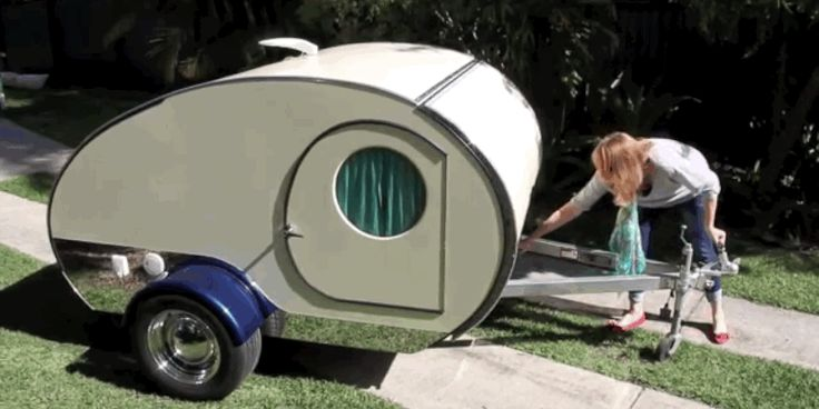 Gidget Retro Teardrop Camper - Tiny Homes