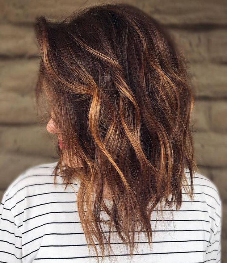 Pretty middle hairstyles for the summer of 2018