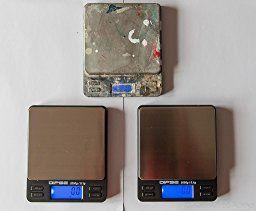 Digitalwaage TP-2000 Feinwaage die in 0,1 g Schritten präzise bis 2000g / 2kg wiegt, Taschenwaage, Feinwaage, Goldwaage mit extra-großer Wiegefläche: Amazon.de: Küche & Haushalt