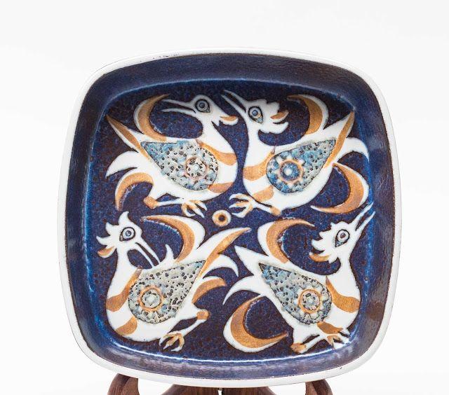 Nils Thorsson Bird Dish