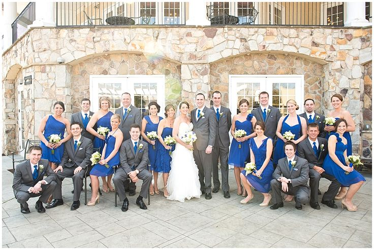 posing large wedding parties | was one big bridal party. I always feel so accomplished after posing ...
