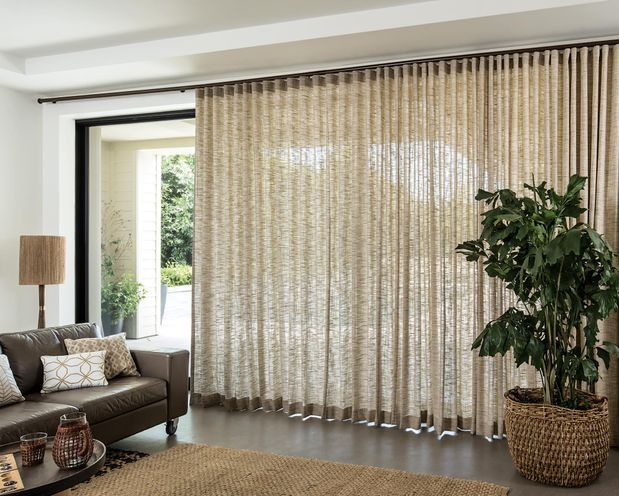 Wave Fold Drapes Curtains Living Room Modern Window Treatments Living Room Sliding Glass Door Window
