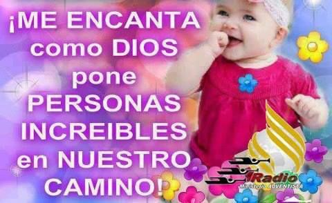 ¡Me encanta como DIOS pone personas increíbles en nuestro camino! #bendiciones #dios #jesus #cristo #dios_te_bendiga