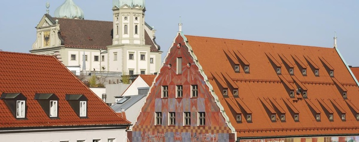 Augsburg, Allemagne. #AILS #cours #allemand