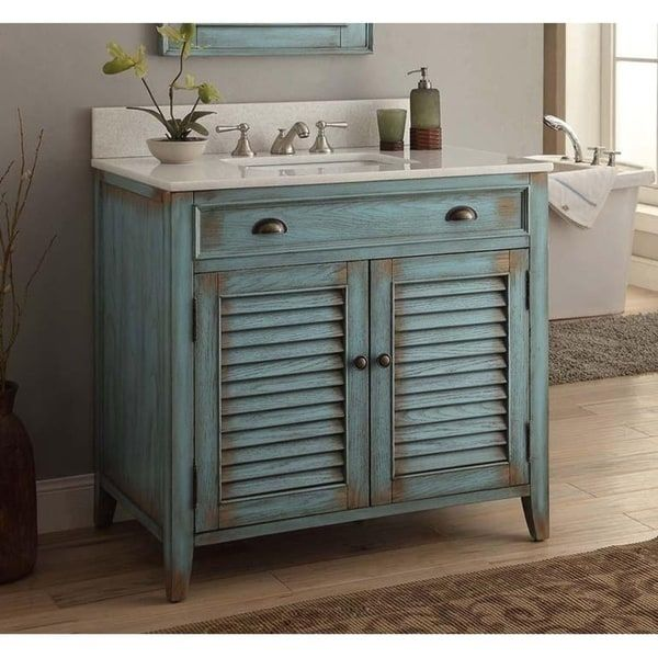 Overstock Com Online Shopping Bedding Furniture Electronics Jewelry Clothing More Shabby Chic Bathroom Vanity Blue Bathroom Vanity Rustic Bathroom Vanities