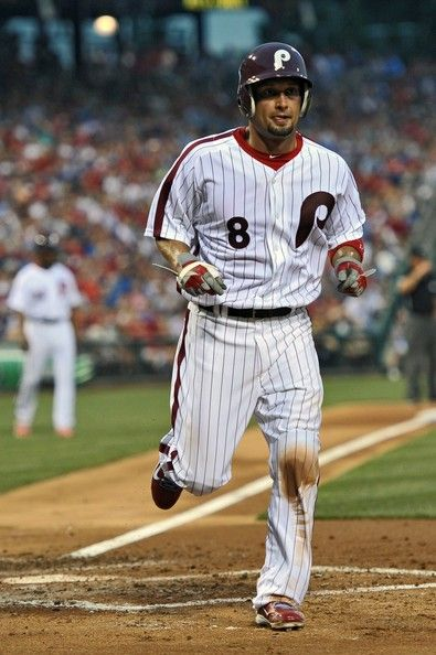 Shane Victorino in a Phillies throwback  6f50b3651af
