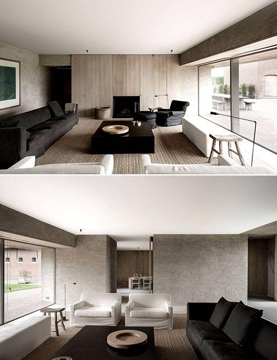 Casa de Campo Minimalista na Bélgica.