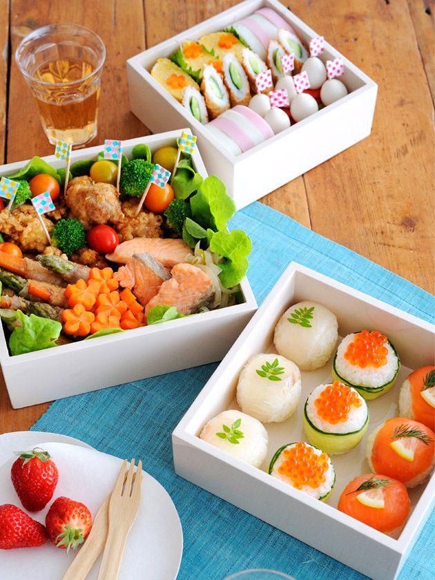 【ELLE a table】運動会にお寿司もアリよね弁当/Bentoギャラリー優秀賞レシピ エル・オンライン