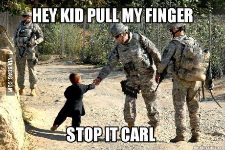 Leave the kids alone Carl