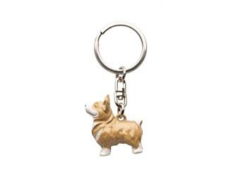 Diamond Jubilee Corgi Dog Key Ring