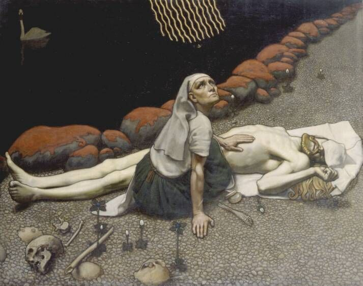 Kalevala  Gallen_Kallela_Lemminkainens_Mother.jpg (713×562)