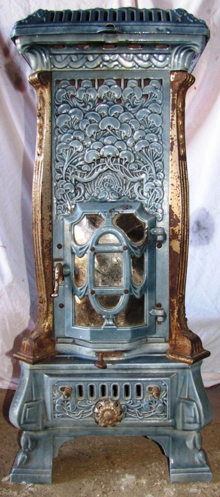 """""""Monopole 116""""  by Deville,  France,  Art Nouveau  multi-fuel stove from the 1910's by jimmie"""