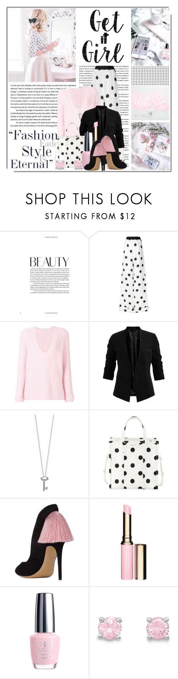 """Get it girl......."" by queenrachietemplateaddict ❤ liked on Polyvore featuring Maison Margiela, Closed, Roberto Coin, Balenciaga, Clarins and Cricut"