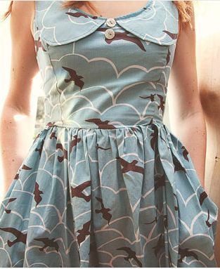 peter pan collar dress (etsy)  picked by rachel denbow (@Smile and Wave)