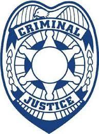 Criminal Justice Badge.
