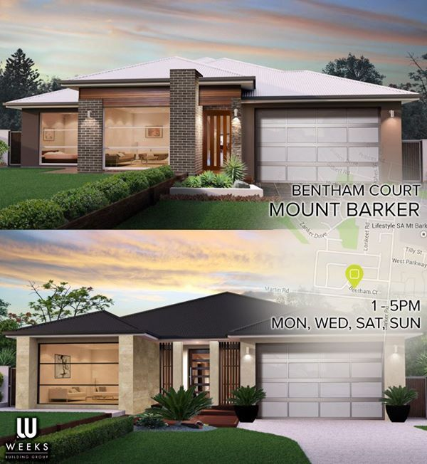 Drop in at our Mt Barker Astor & Banksia display homes for some inspiration for your new home http://weeks.com.au/displays
