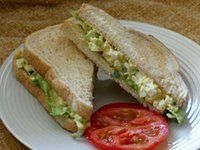 Simple Egg Salad Recipe - Egg Salad With Celery and Mayonnaise