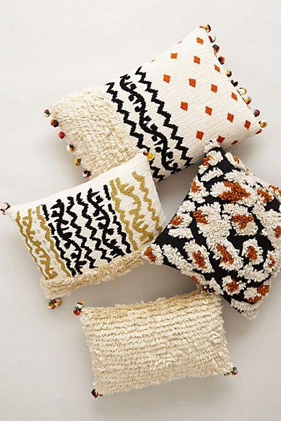 Throw Pillows Luxury : embroidered kosala moroccan throw pillows #anthrofave Your Anthropologie Favorites Pinterest ...