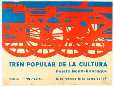 Tren popular de la Cultura. Ferrocarriles del Estado, 1971
