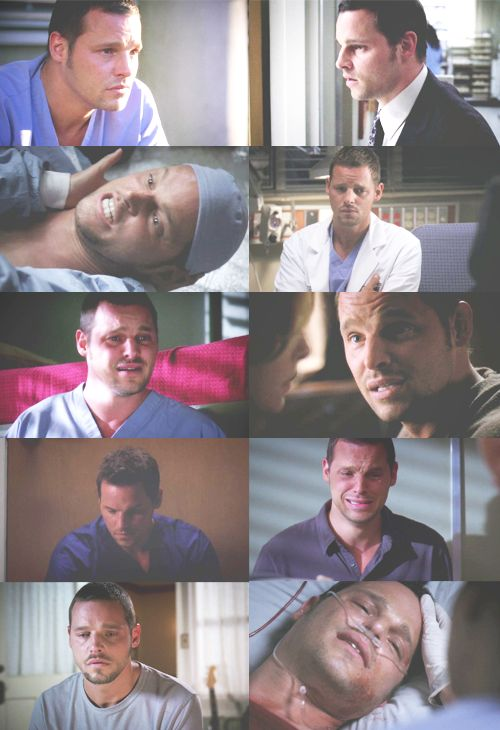 And you say Alex doesn't have feelings! These Are the Emotions of Alex Karev.