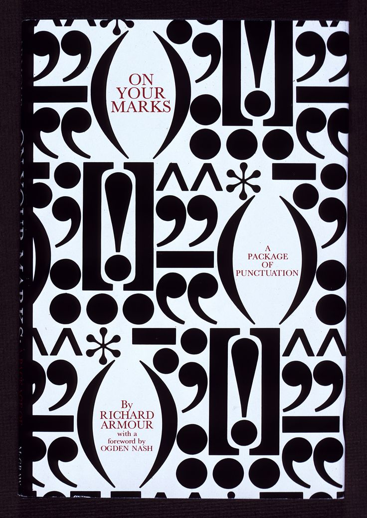 """https://flic.kr/p/cgvfGf   """"On Your Marks"""" book jacket designed by Herb Lubalin, 1969"""
