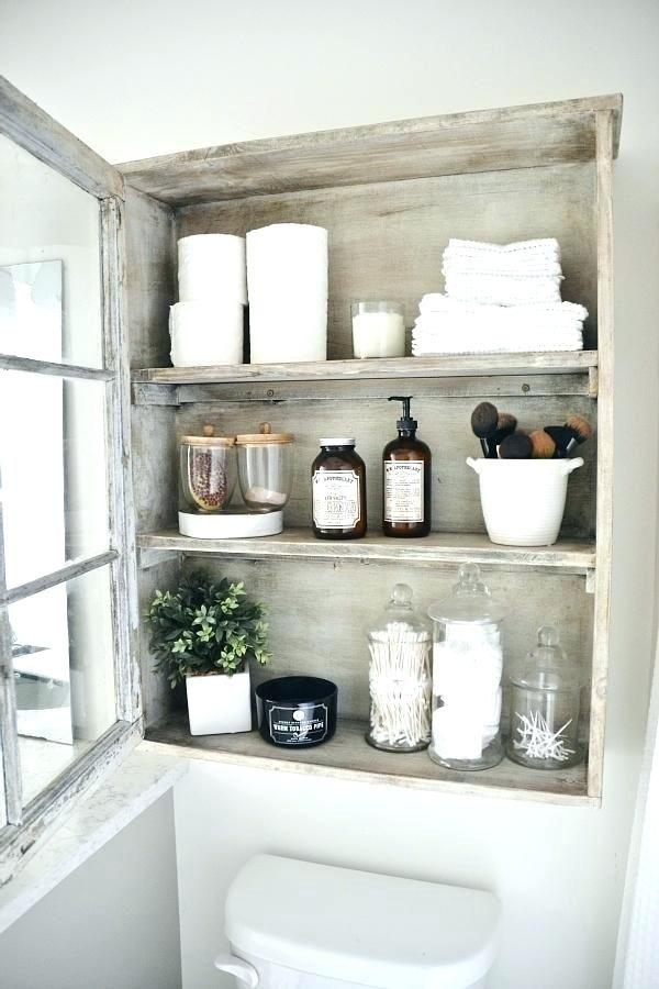 34++ Rustic bathroom storage cabinet model