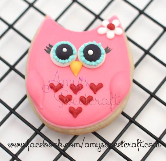 Owl cookie | Flickr - Photo Sharing!