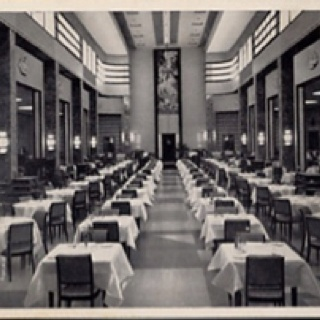 Montreal: art deco restaurant EATON ´s store Ate there often and brought our daughter when she was born.
