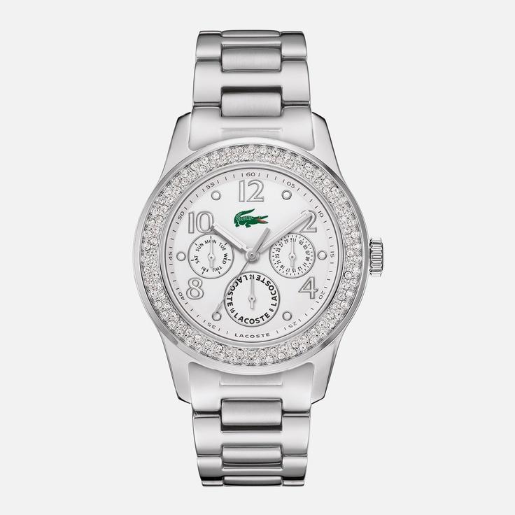 Montre Lacoste multifonction bracelet acier - Femme - 245.00€