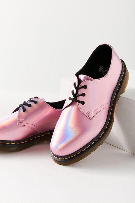 62a7e814 Dr. Martens 1461 Iced Metallic Mallow Pink Oxford | Outfit in 2019 ...