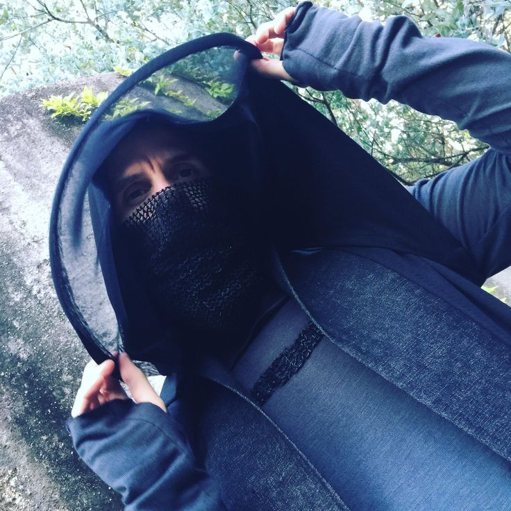 Black oversized hood by Chrisst4life on Etsy