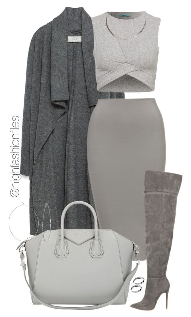 """""""Thanksgiving Look #2"""" by highfashionfiles ❤ liked on Polyvore featuring Zara, Givenchy, Phyllis + Rosie and ASOS"""