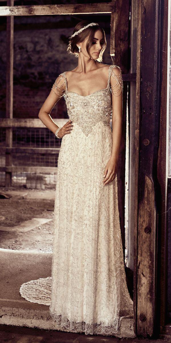 Designer Spotlight: Anna Campbell Marriage ceremony Clothes