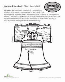 Pennsylvania Liberty Bell Worksheet