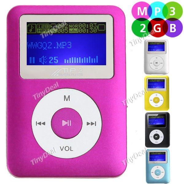 http://www.tinydeal.com/it/mini-2gb-lcd-display-digital-mp3-player-music-player-p-79500.html Mini LCD Display 2GB Digital MP3 Player Music Player