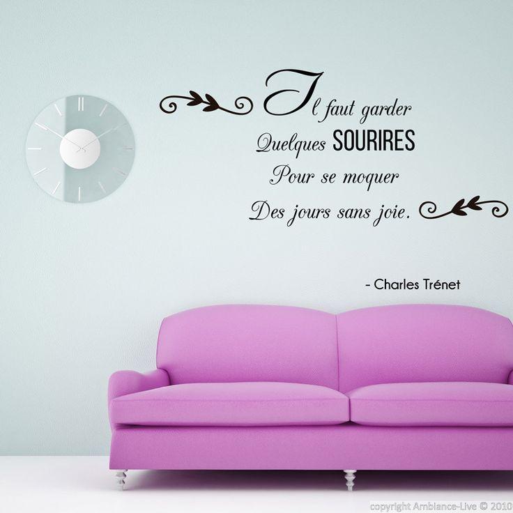 les 43 meilleures images du tableau galerie stickers citations anglaises english quotes wall. Black Bedroom Furniture Sets. Home Design Ideas