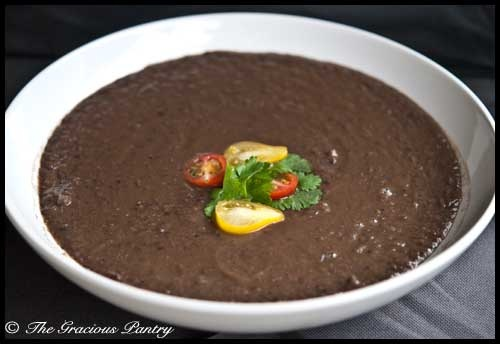 Clean Eating (GF if you use GF broth) Black Bean Soup: Black Beans, Cleanses, Clean Eating, Blackbean Soup, Crockpot, Food Soups Beans, Black Bean Soup, Eating Black, Eating Recipes