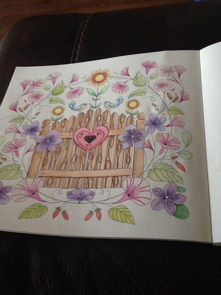 Joyous Blooms To Color Eleri Fowler Joyousbloomstocolor Elerifowler