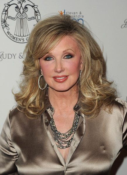 Morgan Fairchild's Curls - Haute Hairstyles for Women Over 50 - Photos