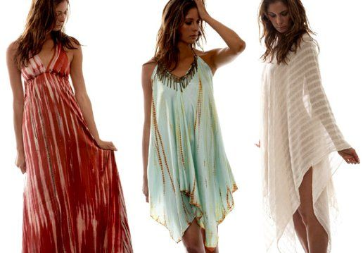 Bohemian beach dresses!! lovely .. his it what i like it!