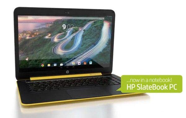 HP Slatebook 14 es la nueva portátil con Android que sería presentada en junio.