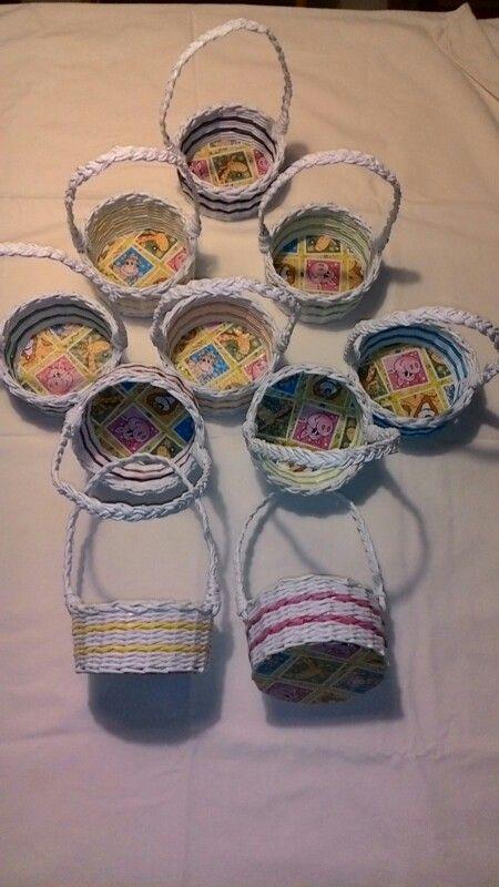 Minikošíčky pro děti do školky na památku ♡