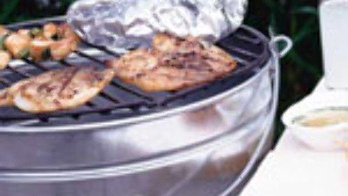 Vis grillen met dip recept